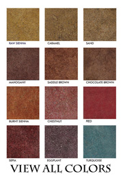 View Floor Finish Colors